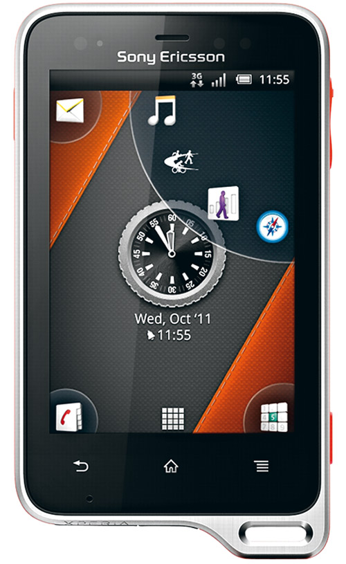 Sony ericsson xperia neo - crisp pictures  shining movies
