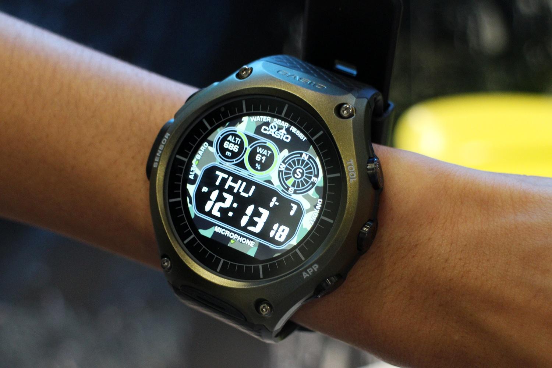 купить умные часы касио «Слушай
