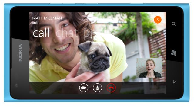 Финальная версия Skype для Windows Phone