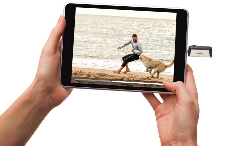 Решения Sandisk для расширения памяти смартфона