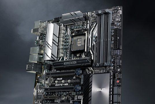 Компания ASUS представила системные платы серии WS X299