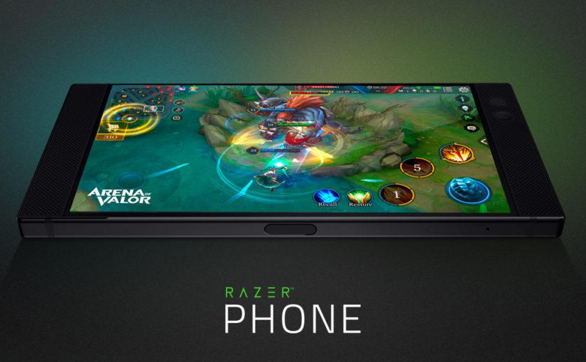 Рендер смартфона Razer Phone