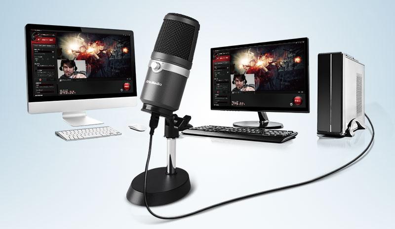Студия в коробочке. USB-микрофон AVerMedia AM310