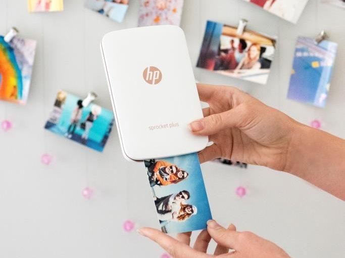 HP Sprocket – карманный мобильный фотопринтер с технологией ZINK (zero ink)