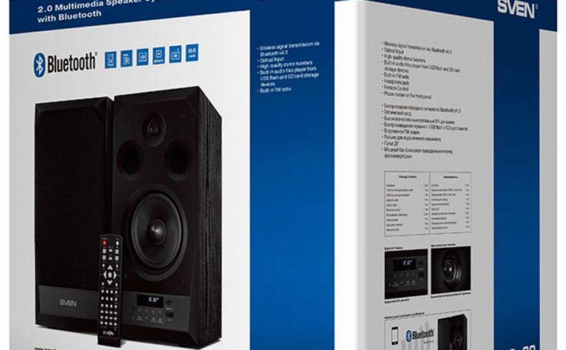Музыкальный центр нашего времени: акустическая система SVEN MC-20