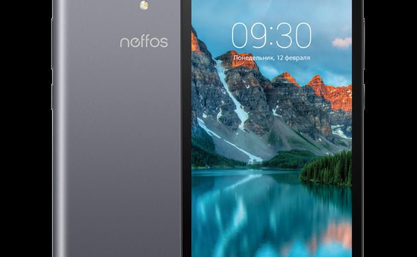 TP-Link представляет доступный смартфон Neffos C5A с большим экраном