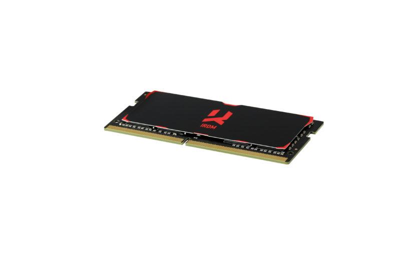 GOODRAM выпустила модули памяти IRDM DDR4 SODIMM для ноутбуков и небольших компьютеров