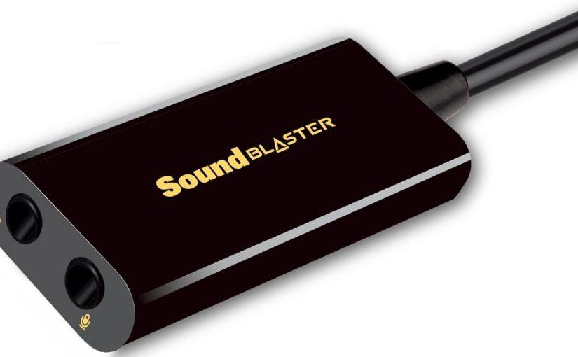 Звуковая карта Creative Sound BlasterX Play! 3