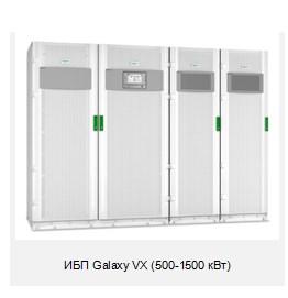 Schneider Electric внедряет сглаживания пиков потребления в ИБП серии Galaxy VX
