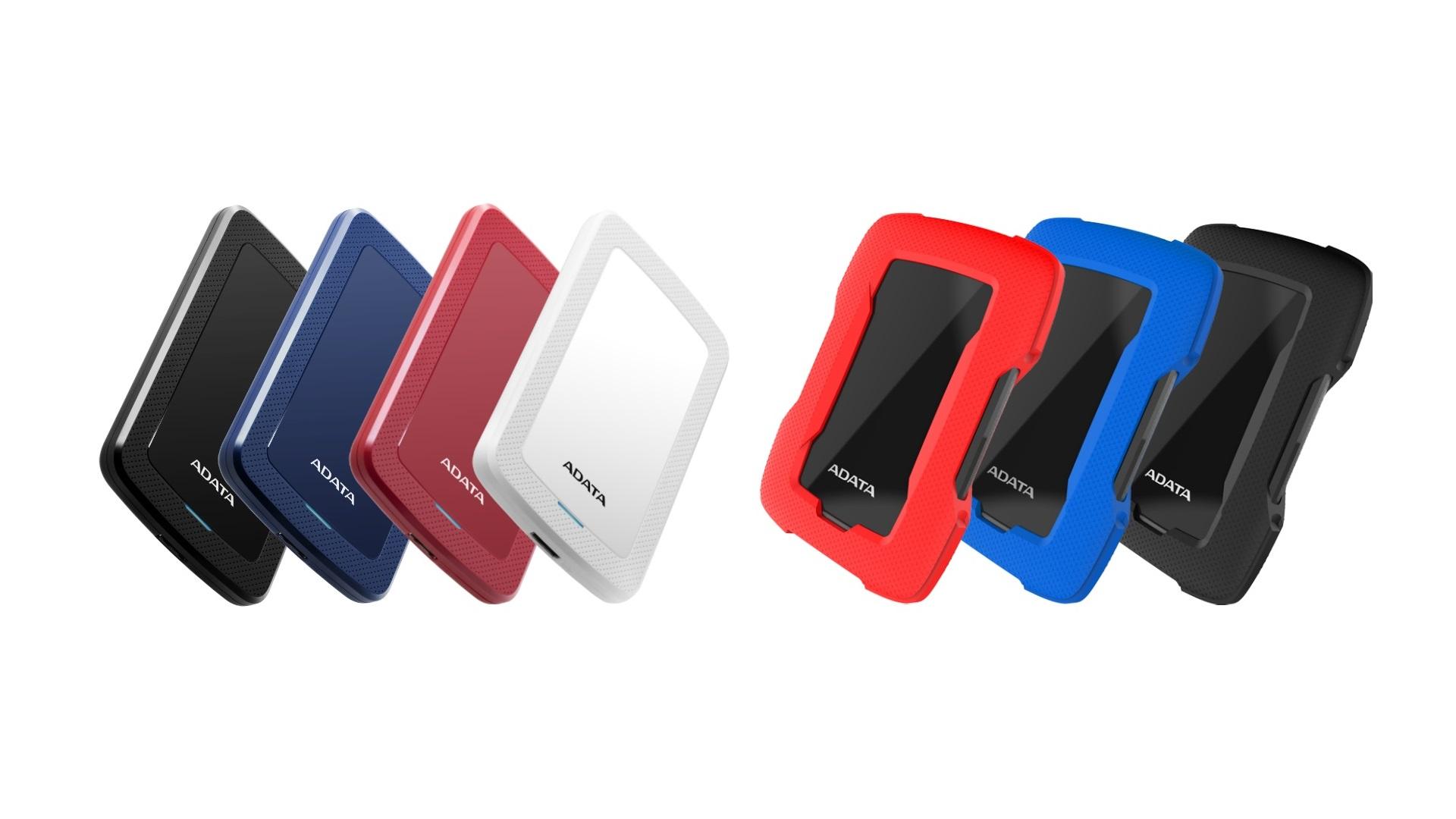 ADATA представила внешние жесткие диски HV300 и HD330