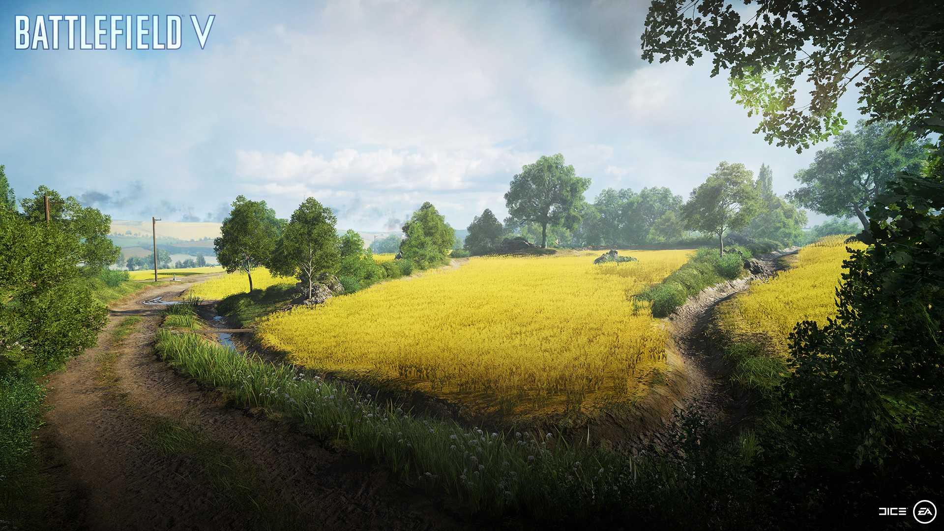 На иллюстрации изображена карта из игры Battlefield V: битва идёт за небольшой французский городок Аррас