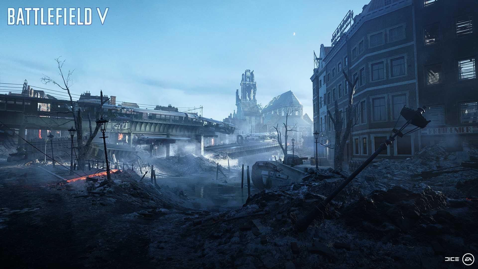 На иллюстрации изображена карта из игры Battlefield V: на карте «Разрушение» решается судьба королевства Нидерландов